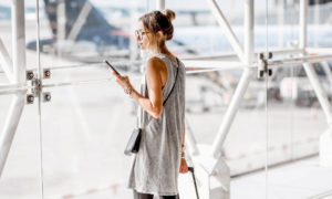 travelling with smartphone