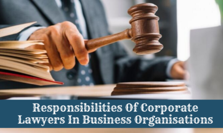 Corporate Lawyers In Business Organisations