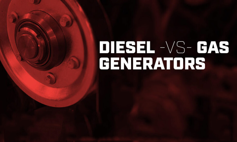 Diesel Generators vs Gasoline Generators