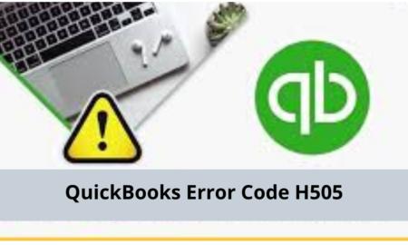 QuickBooks Error Code H505