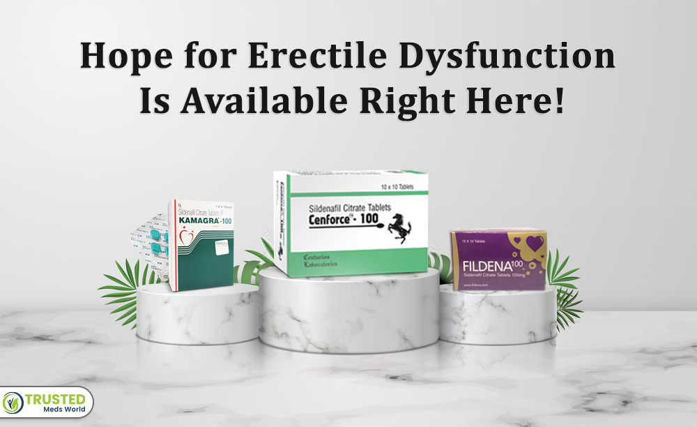 Hope for Erectile Dysfunction Is Available Right Here