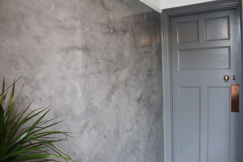 Venetian Plaster Application