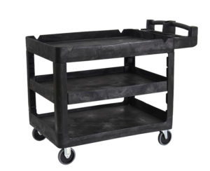 Bitbar 3 Shelf Utility Cart 115x64.1x98.7cm - 230kg rated