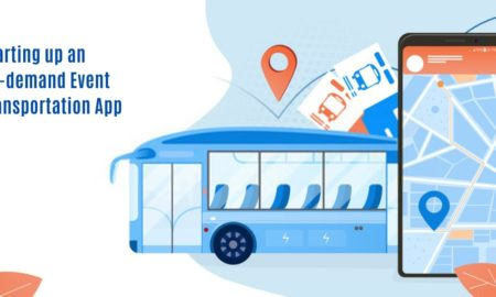 Event transportation app
