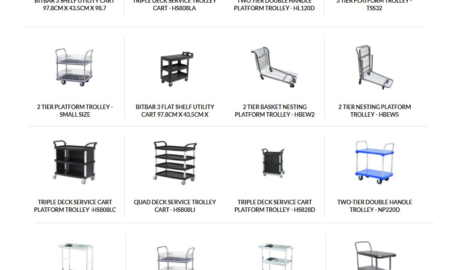 Multi tier trolleys