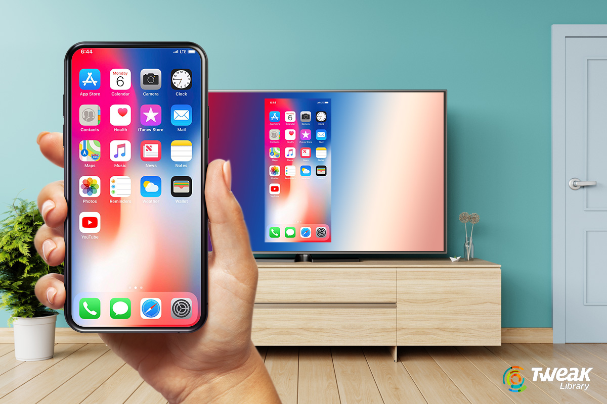 How to mirror iPhone to Tv- Instant ways and More
