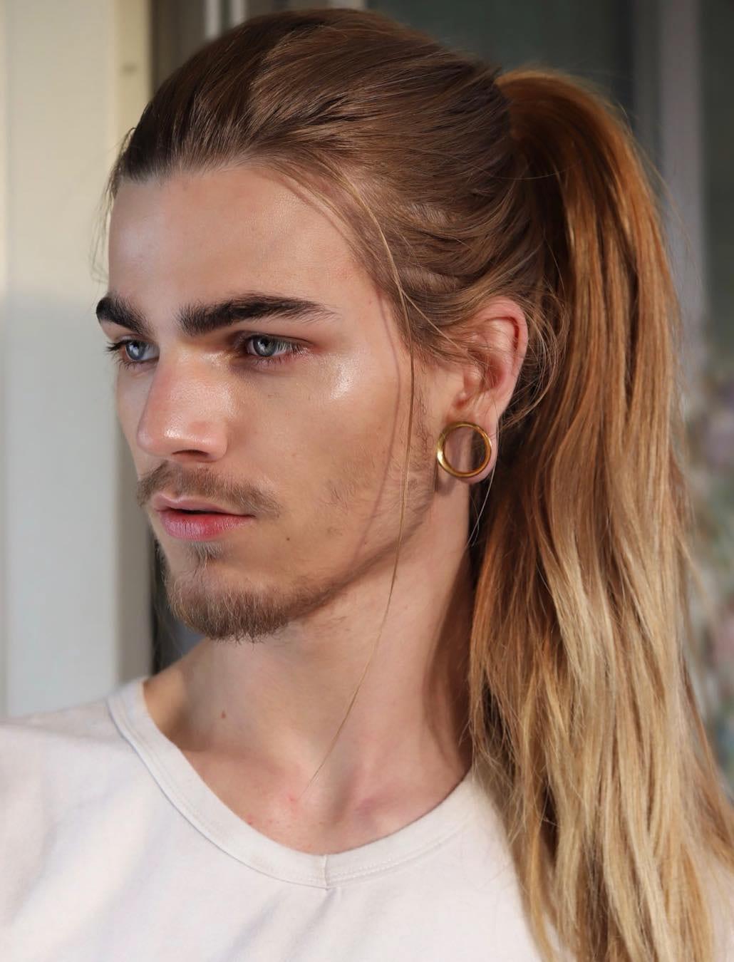 Boys with long hair