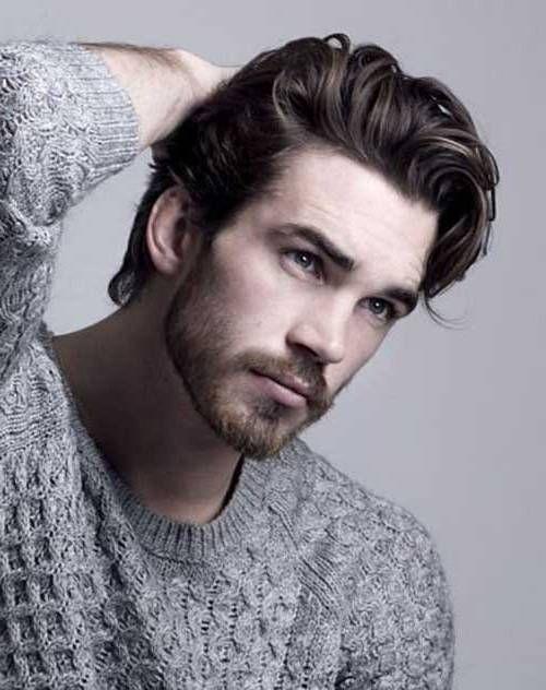 Medium Length hair men